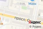 Схема проезда до компании Push-Up в Белгороде