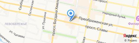 Окна-Центр на карте Белгорода