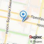 Ресторанчик на карте Белгорода
