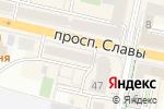 Схема проезда до компании Знамя в Белгороде