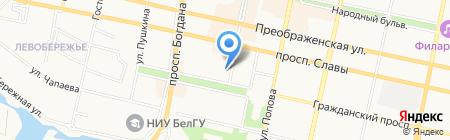 Цветы с Любовью на карте Белгорода
