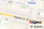 Схема проезда до компании Модерн в Белгороде
