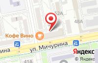 Схема проезда до компании ХЛЕБ-СОЛЬ в Белгороде