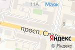 Схема проезда до компании Элегант в Белгороде