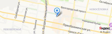 BOMOND на карте Белгорода