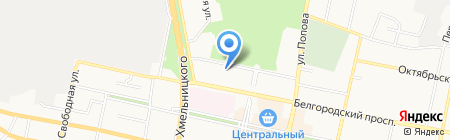 УФМС на карте Белгорода