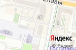 Схема проезда до компании АУРА в Белгороде