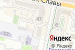 Схема проезда до компании Lucia в Белгороде