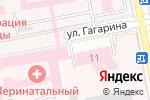 Схема проезда до компании Белгородская областная станция переливания крови в Белгороде