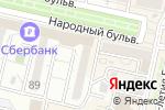 Схема проезда до компании SOQI в Белгороде