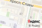 Схема проезда до компании Моряк в Белгороде