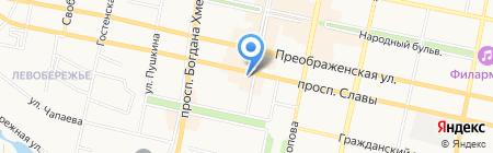 Моряк на карте Белгорода