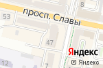 Схема проезда до компании Мистер Икс в Белгороде