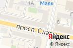 Схема проезда до компании Бон Марше в Белгороде