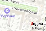 Схема проезда до компании CREA`TIF в Белгороде