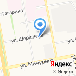 Фабрика знаний на карте Белгорода