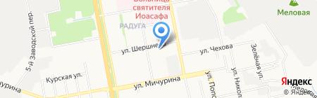 Альфа Офис на карте Белгорода
