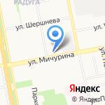 Находка на карте Белгорода
