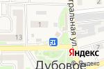 Схема проезда до компании АКВАБАР в Дубовом