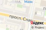 Схема проезда до компании Элвис в Белгороде