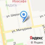 Прокуратура г. Белгорода на карте Белгорода