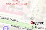 Схема проезда до компании Легенда в Белгороде