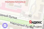 Схема проезда до компании Regina в Белгороде