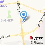 Ватутинское на карте Белгорода