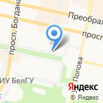 Ангел премиум на карте Белгорода