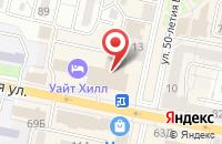 Схема проезда до компании Пресс-Агро в Белгороде