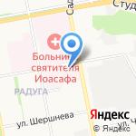 Белгородская областная станция переливания крови на карте Белгорода