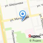 Дружина на карте Белгорода