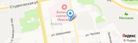 Городская поликлиника №4 на карте Белгорода