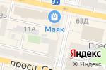 Схема проезда до компании Чулок в Белгороде