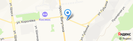 Капелька на карте Белгорода