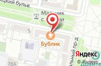 Схема проезда до компании Коралл в Белгороде