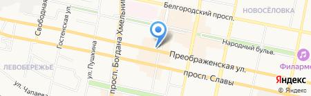 Добрый кофе на карте Белгорода