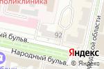 Схема проезда до компании Император в Белгороде