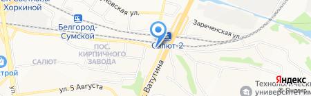 Студия мебели на карте Белгорода
