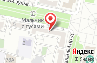 Схема проезда до компании Европейский в Белгороде
