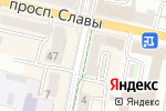 Схема проезда до компании Читай-город в Белгороде