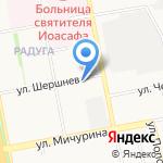 Администрация Белгородского района на карте Белгорода