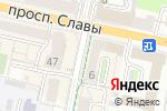 Схема проезда до компании Дядя Шкаф в Белгороде