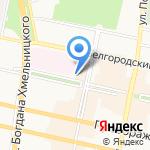 Regina на карте Белгорода