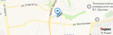 Декор-Логистик на карте Белгорода