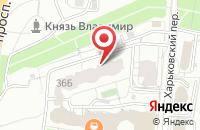 Схема проезда до компании Декор-Логистик в Белгороде