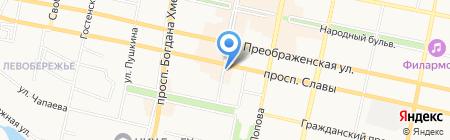 Гранд Стиль на карте Белгорода