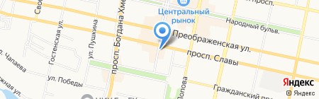Читай-город на карте Белгорода