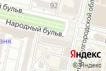 Схема проезда до компании Магазин швейных товаров в Белгороде