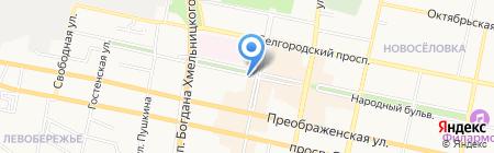 Империя Меха на карте Белгорода